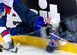 David Rodman of Slovenia during ice-hockey match between Slovakia and Slovenia of Group A of IIHF 2011 World Championship Slovakia, on April 29, 2011 in Orange Arena, Bratislava, Slovakia. Slovakia defeated Slovenia 3-1. (Photo By Vid Ponikvar / Sportida.com)
