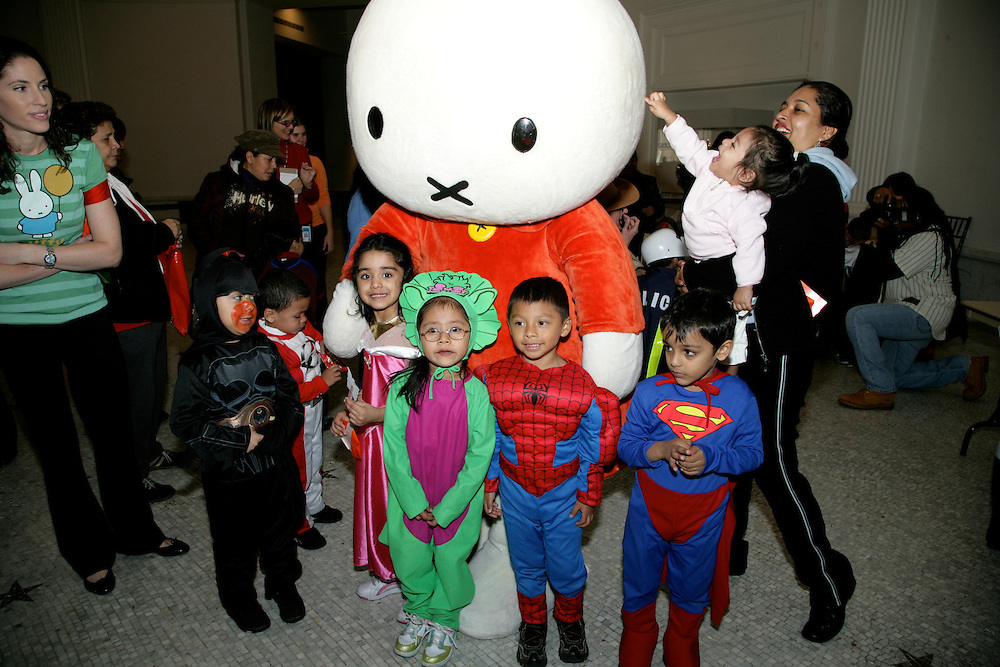 New York City children will join a host of cartoon characters, including Miffy, Curious George&reg;, and Teddy Roosevelt, at a special Halloween preview.  Assisted by their big-pawed friends and Teddy Roosevelt, the kids will make spooky origami, creepy crafts, and, of course, scoop up lots of candy.<br />  <br />                                     This event is a preview of the fun to be had at the Museum&rsquo;s 13th annual Halloween Celebration on Friday, October 31, from 4:00 to 7:00 p.m.  All four floors of the Museum will open for trick-or-treating, arts and crafts, activities, and entertainment.  The celebration features live performances by David Grover and the Big Bear Band, Louie &amp; Subanda, the Big Nazo puppet troupe, stiltwalkers, master pumpkin carver Hugh McMahon, and Big Apple Circus, Circus to Go! Clown.  Those who need a rest from the festivities can purchase a special Monster Meal package