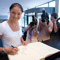 20090716: Tennis - Dinara Safina at press conference before Banka Koper Slovenia Open 2009