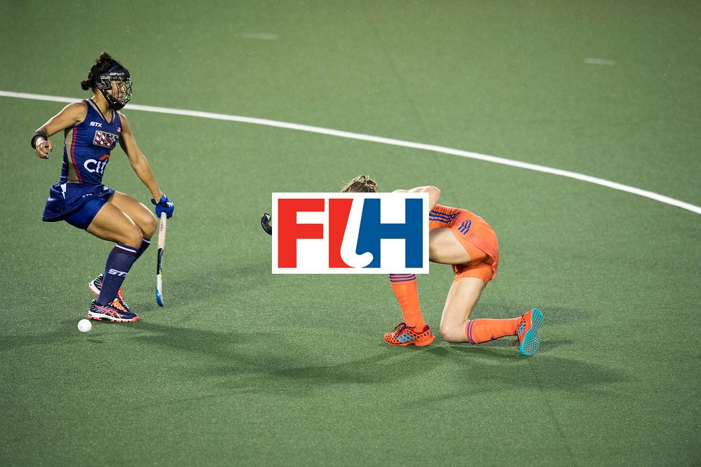 AUCKLAND - Sentinel Hockey World League final women<br /> Match id 10296<br /> 06 Usa v Netherlands<br /> Foto: Ireen van den Assem <br /> WORLDSPORTPICS COPYRIGHT FRANK UIJLENBROEK