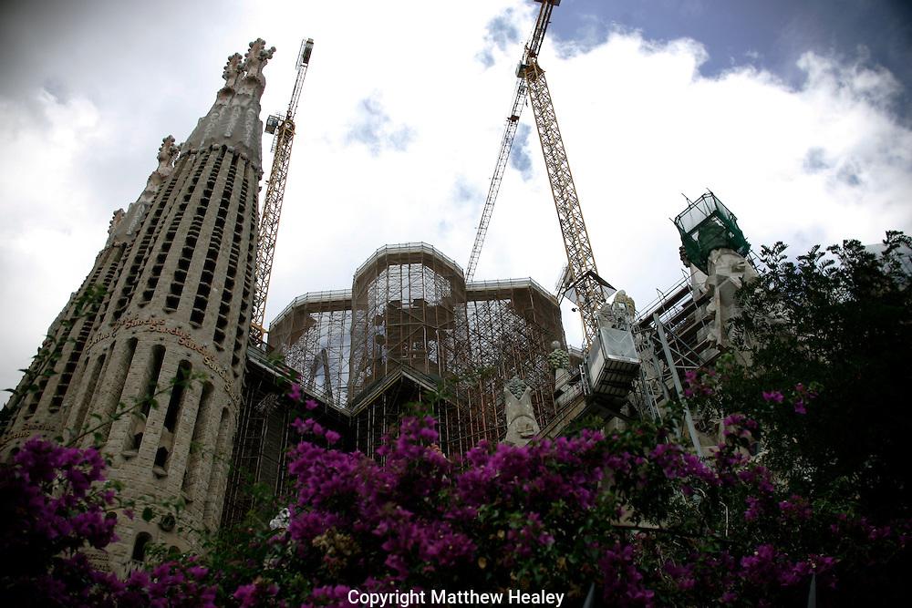 20110903 - Barcelona, Spain - La Sagrada Familia in Barcelona, Spain.  Photo by Matthew Healey