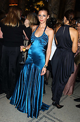 Model LIBERTY ROSS  at the 2005 British Fashion Awards held at The V&A museum, London on 10th November 2005.<br /><br />NON EXCLUSIVE - WORLD RIGHTS