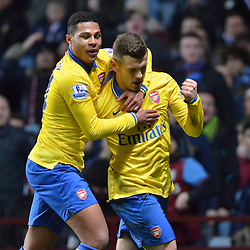Aston Villa v Arsenal | Premiership | 13 January 2104