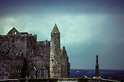 Rock of Cashel. A splendid complex of 13th cathedral and assorted monuments, where St. Patrick once preached.