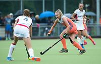 SCHIEDAM - Laurien Leurink (Ned)  tijdens een oefenwedstrijd tussen  de dames van Nederland en Belgie , in aanloop naar het  EK Hockey, eind augustus in Amstelveen. COPYRIGHT KOEN SUYK