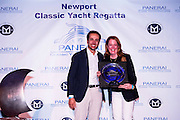 Panerai awards at the Newport Classic Yacht Regatta.
