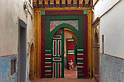 A mosque inside the medina of the fishing port of Essaouira