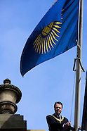 Commonwealth Flag at Edinburgh's City Chambers
