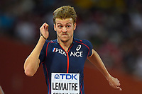 Christophe Lemaitre (FRA) competes in 100 Metres Men during the IAAF World Championships, Beijing 2015, at the National Stadium, in Beijing, China, Day 1, on August 22, 2015 - Photo Julien Crosnier / KMSP / DPPI