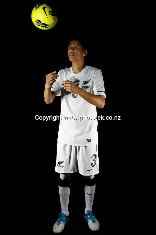 Dylan MANICKUM. Futsal Photo Shoot, North Harbour Stadium, Albany, Wednesday 19th September 2012. Photo: Shane Wenzlick