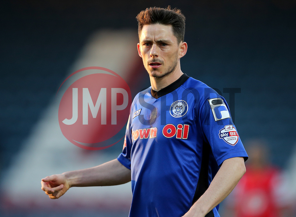 Rochdale's Ian Henderson - Photo mandatory by-line: Matt McNulty/JMP - Mobile: 07966 386802 - 21/04/2015 - SPORT - Football - Rochdale - Spotland Stadium - Rochdale v Leyton Orient - Sky Bet League One