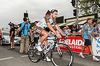 Christophe Riblon  - Ag2r La Mondiale - 20.01.2015 - 1ere etape du Tour Down Under -<br /> Photo : Sirotti / Icon Sport