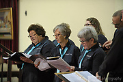 """""""A Choired Taste"""" choir performing in St Mathews Church, Guildford, as part of the 2018 Guildford Songfest"""