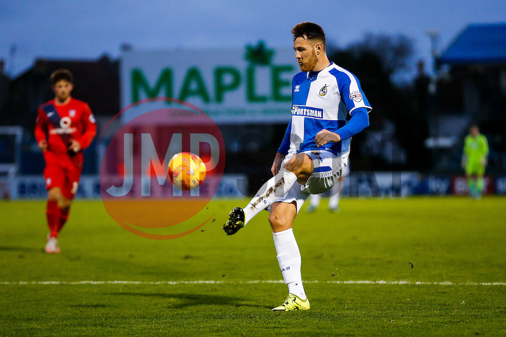 Tom Parkes of Bristol Rovers in action - Mandatory byline: Rogan Thomson/JMP - 07966 386802 - 12/12/2015 - FOOTBALL - Memorial Stadium - Bristol, England - Bristol Rovers v York City - Sky Bet League 2.