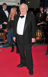 © under license to London News Pictures. 08/03/11.Joss Ackland Attends The Olivier Awards at Theatre Royal Drury Lane London . Photo credit should read ALAN ROXBOROUGH/LNP