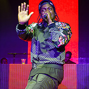 WASHINGTON, DC - January 12th, 2014 - Rapper Pusha T performs at Echostage in Washington, D.C. A longtime member of the duo The Clipse, Pusha T's solo career took off after a guest spot on Kanye West's classic 2010 album My Beautiful Dark Twisted Fantasy . (Photo by Kyle Gustafson /  For The Washington Post)