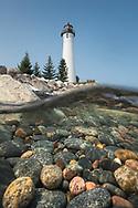 Crisp Point Lighthouse<br /> Michigan's Upper Peninsula