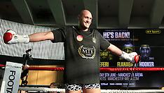 Tyson Fury v Sefer Seferi Public Workout - National Football Museum - 05 June 2018
