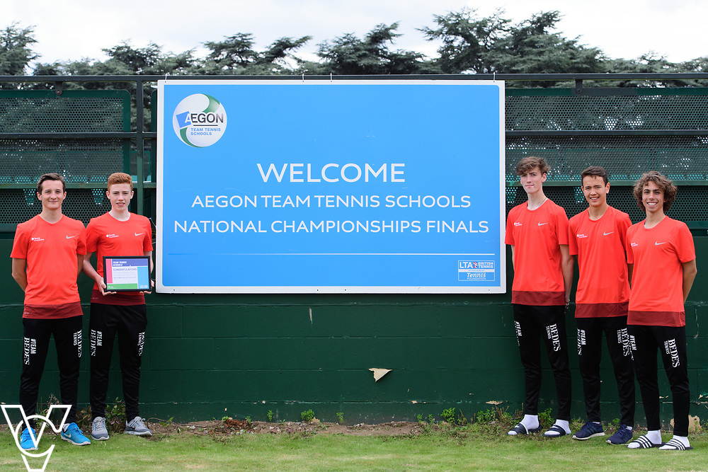 Bede's School<br /> <br /> Team Tennis Schools National Championships Finals 2017 held at Nottingham Tennis Centre.  <br /> <br /> Picture: Chris Vaughan Photography for the LTA<br /> Date: July 14, 2017