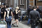 De cast van Sense8 is momenteel in Nederland. De acteurs van de Netflix Original zijn hier een aantal dagen om opnames te maken voor het tweede seizoen van Sense8. In dit tweede seizoen zullen dus beelden te zien zijn van Amsterdam en Den Haag. <br /> <br /> <br /> The Sense8 cast is currently in the Netherlands. The actors of the Netflix Original are several days to shoot the second season of Sense8. In this second season will therefore see images of Amsterdam and The Hague.<br /> <br /> Op de foto / On the photo:  Tuppence Middleton