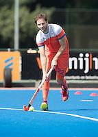 ARNHEM - Primeur. ROGIER HOFMAN. Het Nederlands Mannen hockeyteam traint in Arnhem in het Olympische Adidas tenue, dat tijdens de Olympische Spelen zal worden gedragen.   COPYRIGHT KOEN SUYK