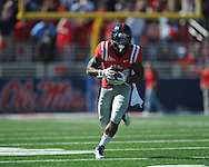 Ole Miss' Brandon Bolden (34) vs. Arkansas at Vaught-Hemingway Stadium in Oxford, Miss. on Saturday, October 22, 2011. .