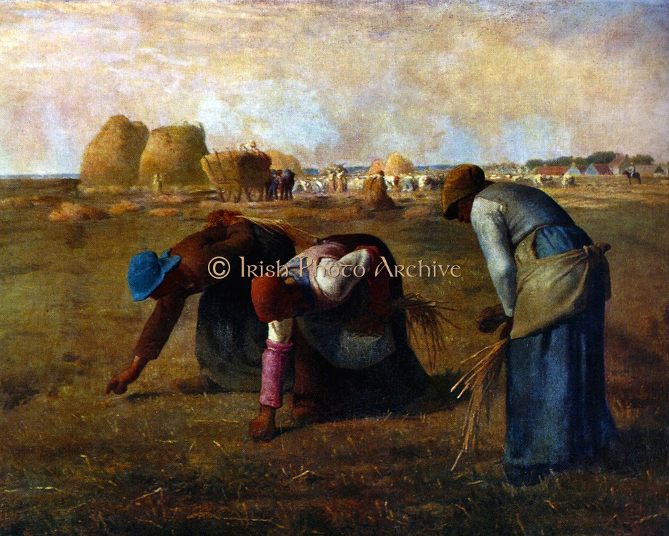 Jean-Francois Millet, The Gleaners (1857)