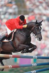 Philippaerts Ludo-King Darco<br /> Olympic Games Atlanta 1996<br /> Photo © Dirk Caremans