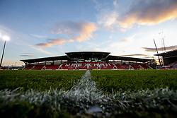 A general view of The Racecourse Ground, Wrexham, ahead of Wales v Trinidad and Tobago - Mandatory by-line: Robbie Stephenson/JMP - 20/03/2019 - FOOTBALL - The Racecourse Ground - Wrexham, United Kingdom - Wales v Trinidad and Tobago - International Challenge Match