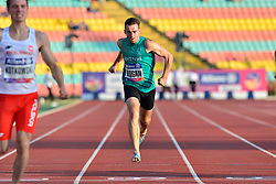 Paul Keogan, IRE competing in the T37, 200m at the Berlin 2018 World Para Athletics European Championships