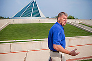 Richard F. Natonski, 58, Lieutenant General USMC (now retired) is talking about his experience in Fallujah and Iraq while walking in front of the 'National Museum of the Marine Corps', in Quantico, Virginia, USA. Starting in August 2004, he was assigned the task of commander of the '1st Marine Division' in Al Anbar Province, Iraq. He planned and commanded the devastating 'Operation Phantom Fury' (2nd Battle of Fallujah) together with General Sattler. He retired on September 8th 2010.