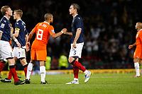 FOOTBALL<br /> 09/09/2009 SCOTLAND V NETHERLANDS: <br /> A DEJECTED DAVID WEIR AT THE END OF THE 2010 WORLD CUP QUALIFIER AT HAMPDEN PARK, GLASGOW.<br /> CREDIT: COLORSPORT