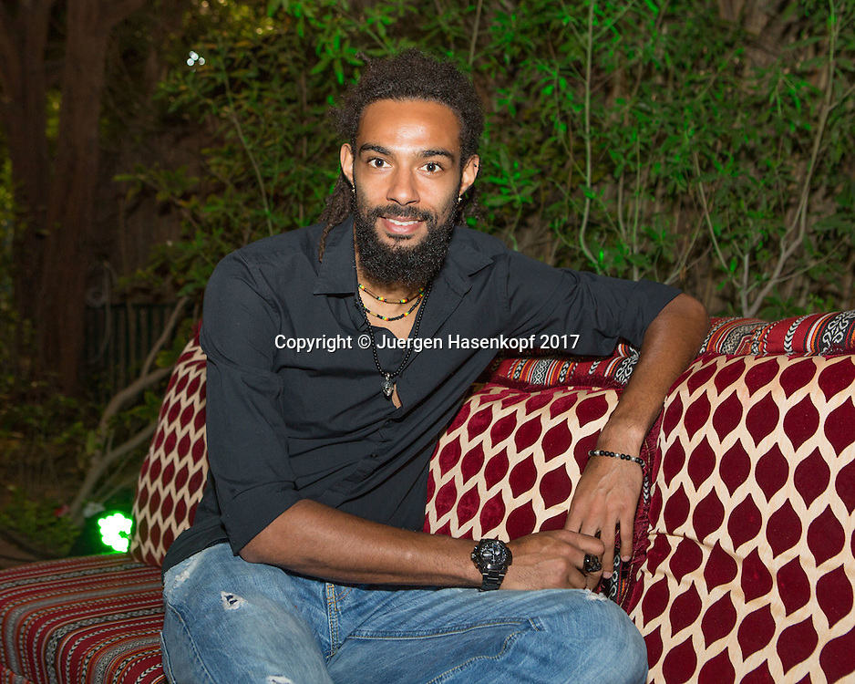 DUSTIN BROWN (GER), Players Party<br /> <br /> Tennis - Dubai Duty Free Tennis Championships - ATP -  Players Party - Dubai -  - United Arab Emirates  - 28 February 2017. <br /> &copy; Juergen Hasenkopf