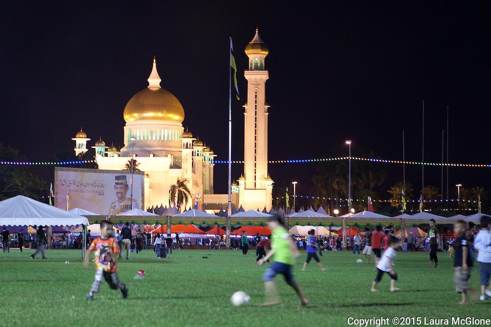 Sultan Omar Ali Saifuddin Mosque, Bandar Seri Begawan, Brunei