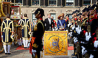 DEN HAAG, 20 september.<br /> Prinsjesdag 2016. Binnenhof. Glazen koets<br /> FOTO MARTIJN BEEKMAN/Ministerie van Financien