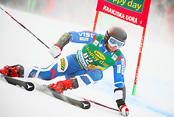 Ivan Kuznetsov of Russia competes during 1st run of Men's GiantSlalom race of FIS Alpine Ski World Cup 57th Vitranc Cup 2018, on March 3, 2018 in Kranjska Gora, Slovenia. Photo by Ziga Zupan / Sportida