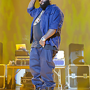 "WASHINGTON, DC - February 23rd, 2012 - Rick Ross, recently named ""The Hottest MC In The Game"" for 2011 by MTV, performs at DAR Constitution Hall in Washington, D.C. (Photo by Kyle Gustafson/For The Washington Post)"