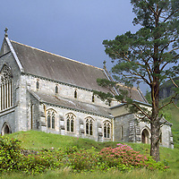 Church in Glenfinnan, Scotland.