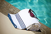 Towel & Sunglasses