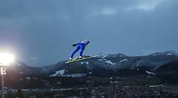 29.12.2013, Schattenbergschanze, Oberstdorf, GER, FIS Ski Sprung Weltcup, 62. Vierschanzentournee, Bewerb, im Bild Michael Hayboeck (AUT) // Michael Hayboeck of Austria during Competition of 62th Four Hills Tournament of FIS Ski Jumping World Cup at the Schattenbergschanze, Oberstdorf, Germany on 2013/12/29. EXPA Pictures © 2013, PhotoCredit: EXPA/ Peter Rinderer