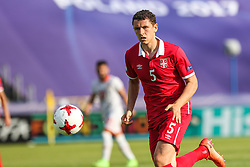 June 20, 2017 - Bydgoszcz, Poland - Milos Veljkovic (SRB) during the UEFA European Under-21 Championship Group C match between Czech Republic and Italy at Tychy Stadium on June 21, 2017 in Tychy, Poland. (Credit Image: © Foto Olimpik/NurPhoto via ZUMA Press)