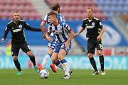Wigan Athletic midfielder Max Power (6) during the EFL Sky Bet Championship match between Wigan Athletic and Brighton and Hove Albion at the DW Stadium, Wigan, England on 22 October 2016.