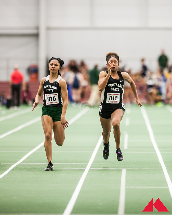 Boston University Scarlet and White Indoor Track & Field: Portland State