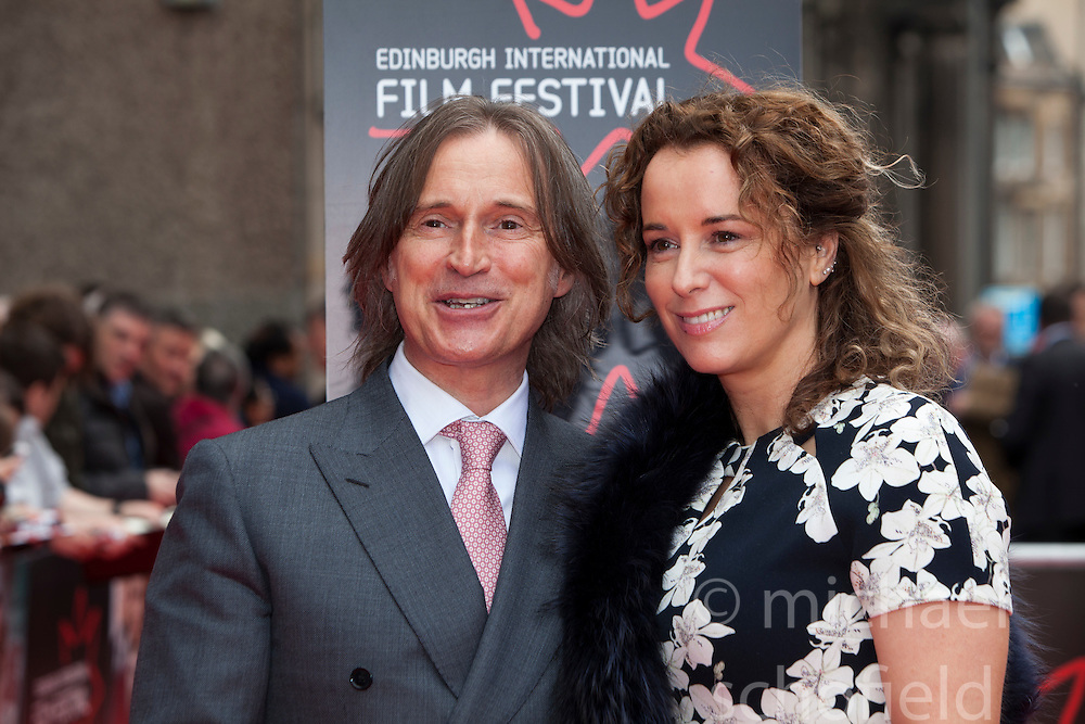 "Robert Carlyle with his wife Anastasia Shirley. Opening Night Gala and World Premiere of ""The Legend of Barney Thompson"", Edinburgh International Film Festival 17 - 28 June 2015."