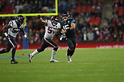 during the International Series match between Jacksonville Jaguars and Houston Texans at Wembley Stadium, London, England on 3 November 2019.