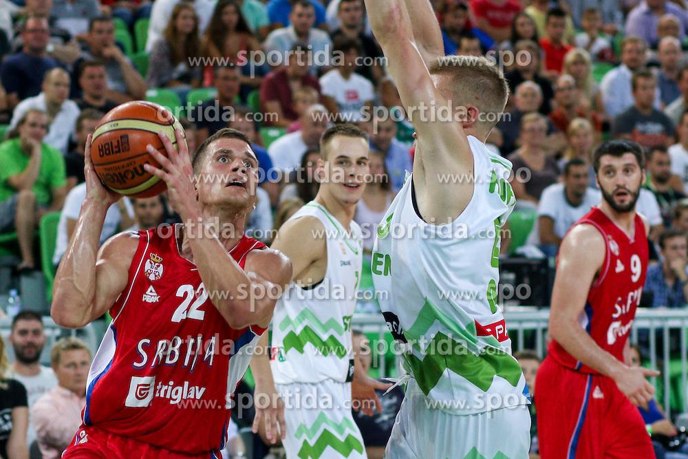 Nemanja Nedovic of Serbia at friendly basketball match between National teams of Slovenia and Serbia, on August 27 in SRC Stozice, Ljubljana, Slovenia. Photo by Matic Klansek Velej / Sportida August 27, 2015