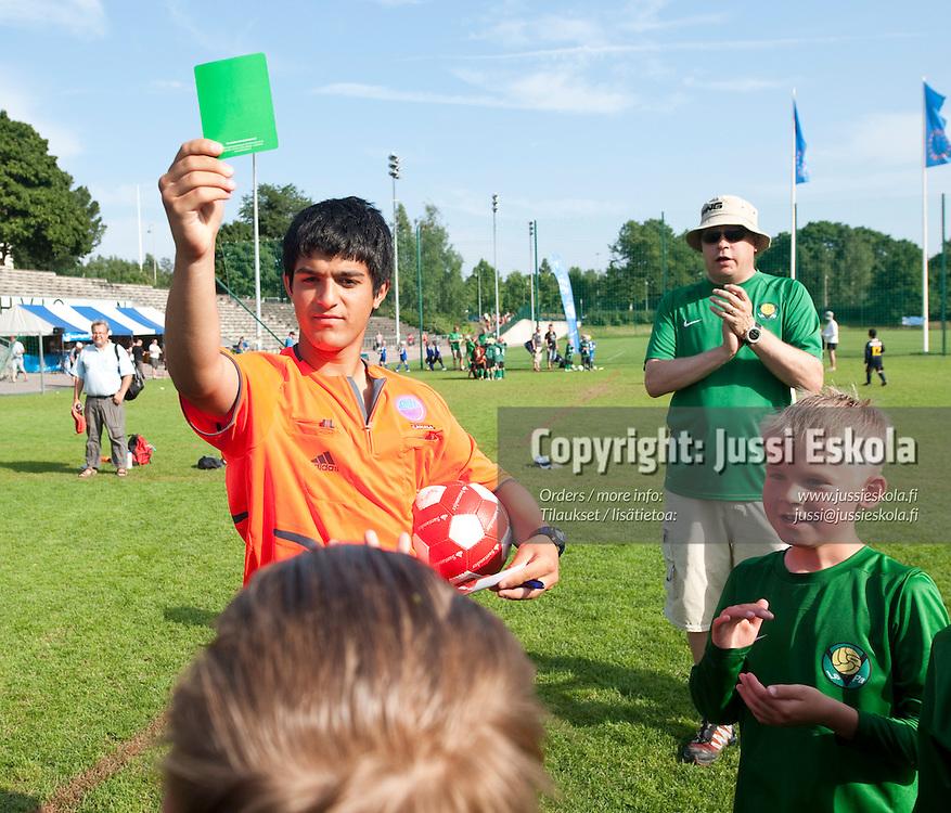 B8 KäPa - LePa. Helsinki Cup. 14.7.2010. Photo: Jussi Eskola