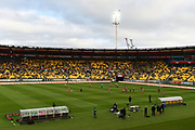 General view of Westpac Stadium during the Hyundai A League match. Wellington Phoenix v Melbourne City FC. Westpac Stadium, Wellington, New Zealand. Saturday 26 January 2019. ©Copyright Photo: Chris Symes / www.photosport.nz