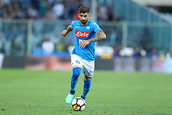 April 29, 2018 - Florence, Italy - Elsed Hysaj of Napoli during the Serie A match between ACF Fiorentina and SSC Napoli at Stadio Artemio Franchi on April 29, 2018 in Florence, Italy. (Credit Image: © Matteo Ciambelli/NurPhoto via ZUMA Press)