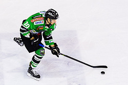 3.01.2014, Hala Tivoli, Ljubljana, SLO, EBEL, HDD Telemach Olimpija Ljubljana vs Dornbirner Eishockey Club, 63rd Game Day, in picture Gregor Koblar (HDD Telemach Olimpija, #20) during the Erste Bank Icehockey League 63rd Game Day match between HDD Telemach Olimpija Ljubljana and Dornbirner Eishockey Club at the Hala Tivoli, Ljubljana, Slovenia on 2014/01/03. (Photo By Matic Klansek Velej / Sportida)